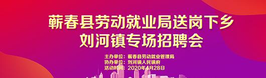 蕲春县劳动就业局送岗下乡刘河镇专场招聘会