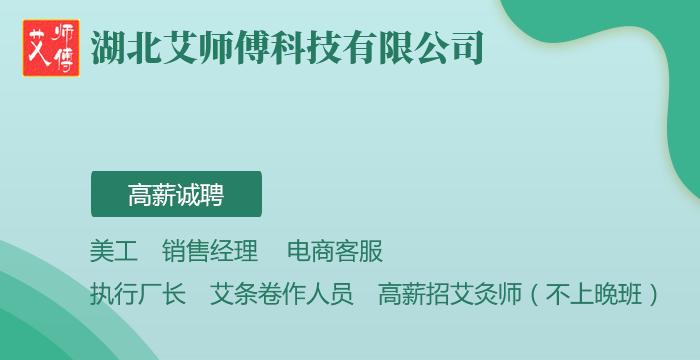 湖北艾师傅科技有限公司招聘